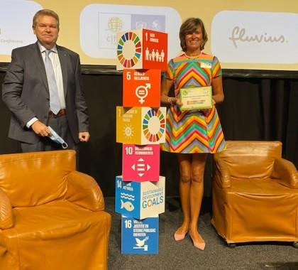 Vandecasteele Houtimport erhaltet das Zertifikat 2020 für Sustainable Business